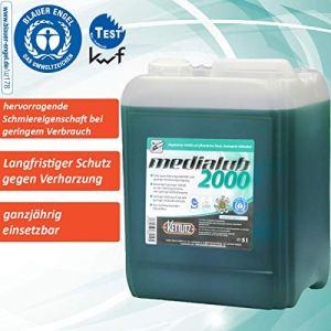 KETTLITZ-Medialub 2000 Blauer Engel Huile de chaîne bio certifiée KWF 5 l