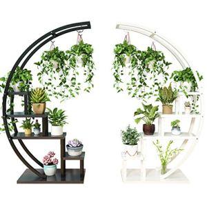 LSZ Nouveau Salon Maison étagère à Fleurs Multi-étages intérieur Offre spéciale Espace Balcon étagère décorative en Fer forgé Pot de Fleurs Rack Support pour Plante (Color : Multi-Colored)