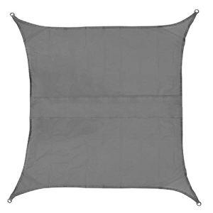 Lzcaure Shade Sails – Voile d'ombrage rectangulaire en tissu Oxford 420D pour terrasse et jardin – 3,6 x 3,6 m