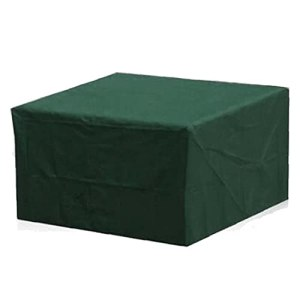 Meubles de jardin Housse de protection rectangulaire verte pluie imperméable neige poussière coupe-vent pour extérieur Table