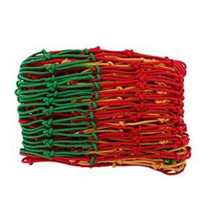 NIUGEF Filet Anti-Chute Filets de clôture Filet d'escalade en Nylon Corde Lourde Net Décoration De Jardin Net Plante Net Maille Taille 10mm * 15cm Filet De Corde Multicolore(Size:1 * 7m/3.3 * 23ft)