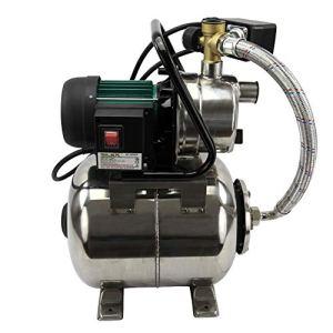 Pompe d'arrosage de surface avec surpresseur 20 Litres Silex® (1200 W, Hauteur de refoulement 50 m, Corps en inox , débit 3 800 litres/heure