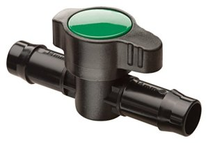 Rain Bird BVAL50-1S Drip Irrigation 1/2″ Barbed Valve, Male x Male