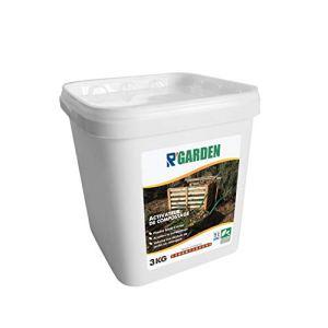 R'Garden   Engrais Organique Activateur de Compost   Engrais Ecologique   Fertilisant Naturel   Nourrit en Profondeur   Facile d'Utilisation   3KG