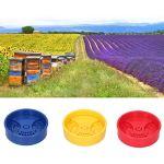 Semiter Porte de nids d'abeille, Merveilleux Plastique Gat de Ruche pour l'apiculture pour Ruche