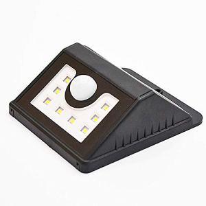 shihang Projecteur solaire d'extérieur LED super lumineux avec détecteur de mouvement IP65 étanche pour extérieur Jardin