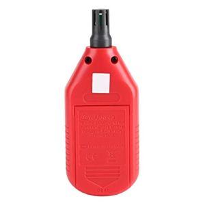 Shipenophy Compteur d'humidité de la température de l'air Portable thermomètre numérique hygromètre thermomètre hygromètre Puce Basse énergie pour réfrigérateur de Jardin de Cave