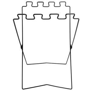Support de Poubelle, Support de Sac de Poubelle Portable de Pique-Nique de Barbecue étagère Pliante de Fil de Fer de Protection de l'environnement