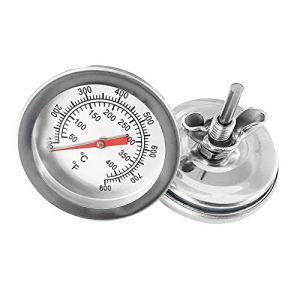 Thermomètre en Acier Inoxydable pour la Cuisson : Casseroles, Barbecues, Fours, Fumeurs. Qualité par Smokey Olive Wood.