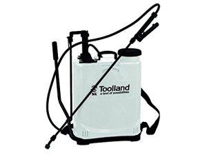 TOOLLAND 07499 Pulvérisateur à Dos Blanc 16 litres