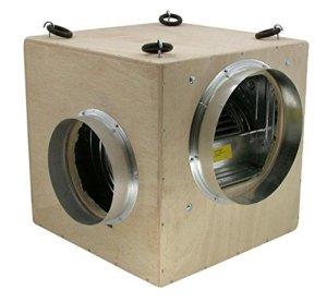 Unbekannt Kit de ventilation professionnel avec filtre à charbon actif Turin 550 m³/h – Kit de ventilation pour Growbox/Homebox