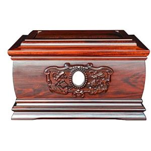 UNU_YAN Utilisé pour la crémation des cendres, des os d'enterrement en bois utilisés pour les cendres, les mécafrats de bois, les cendres de l'arbre de vie utilisé pour les cendres, grandes urnes de s