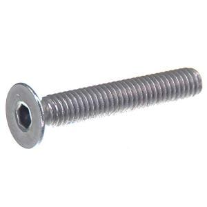 Vis à tête fraisée SECCARO M4 x 25 mm, acier inoxydable V2A VA A2, DIN 7991 / ISO 10642, six pans creux, 20 pièces