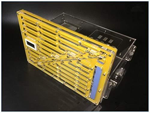 WCX 1PCS Acrylique Ant Nest Pet Living Castle Ant Palais de Ant Atelier Titan (Color : Yellow, Size : XL)