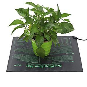 YiXing Tapis chauffant pour plantes de maison et de jardin – Tapis de culture hydroponique – En PVC – Taille : L