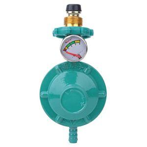 YOPOTIKA Régulateur de pression de réservoir de gaz avec manomètre