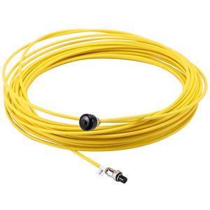 Youmine CaméRa VidéO D'Inspection de Tuyau Du Cable 20M, Cables Industriels de SystèMe D'Endoscope de Canalisation D'éGout de Drain