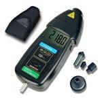 ZLININ Contactez-tachymètre LCD tachymètre numérique Renfoncement Gamme large mesure Compteur de vitesse DT2236B équipement d'essai électronique