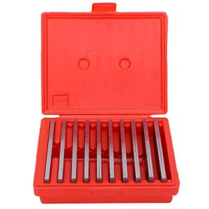 10 paires d'outils de tour de machiniste de barre parallèle mince de 1/8 pouce pour l'arpentage de Construction, outils parallèles de tour