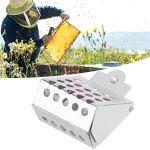 【𝐏𝐫𝐨𝐦𝐨𝐭𝐢𝐨𝐧 𝐝𝐞 𝐏â𝐪𝐮𝐞𝐬】 Bee Queen Cage, Facile à Utiliser Queen Bee Catcher, Queen Bee Catcher en Fer galvanisé de Haute qualité Pratique Attraper des Abeilles Attraper la Reine des Abei