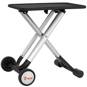 BBQ-Toro Table Pliante Chariot de Barbecue | Table d'appoint en Aluminium avec Plan de Travail en métal | Cuisine d'extérieur