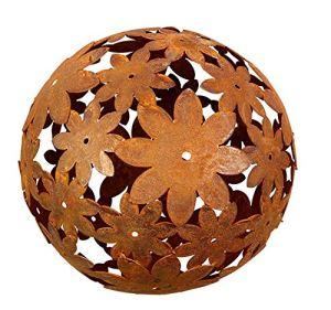 Bornhöft Boule décorative en acier inoxydable – 40 cm