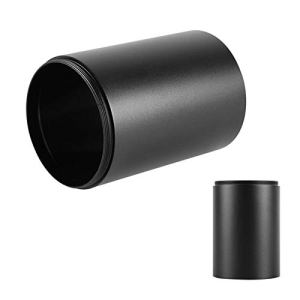 Changor Scope de transat transversale avancée, Alliage d'aluminium de 8cm en Alliage d'aluminium Réglage de parallaxe de parallaxe Nylon (Noir)