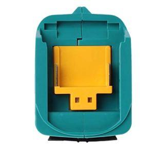 cherrypop Convertisseur de charge USB pour ADP05 Bl1815 Bl1830 Bl1840 Bl1850 1415 Batterie Li-Ion 14,4-18 V Bleu
