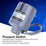Commutateur de pression de pompe de surpression Interrupteur de pression femelle pour pompe de surpression automatique pour l'industrie(1.0-1.8kg, pink)