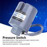 Commutateur de pression de pompe de surpression Interrupteur de pression femelle pour pompe de surpression automatique pour l'industrie(1.5-2.2kg, pink)