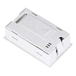 Conception compacte, hygromètre numérique, thermomètre d'humidité, reptile de couveuses pour la maison pour les incubateurs(white)