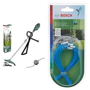 Débroussailleuse Bosch – AFS 23-37 (1000W, livré avec Lame à 3 Dents, Bobine pour Fil de Coupe & Sachet de 10 Fils – Accessoire pour Coupe Bordure Art 30 Combitrim (30cm) Bleu