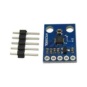 EATAN GY-273 HMC5883L Module capteur de boussole magnétique 3-5 V DC 3-5 V pour smartphone
