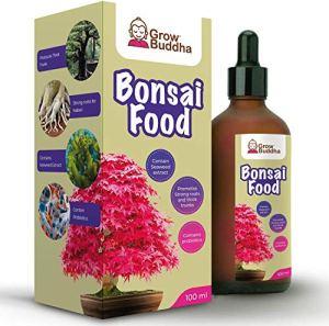 Engrais alimentaire pour bonsaïs – Engrais liquide concentré pour bonsaïs 100 ml – Croissance rapide avec racines fortes – Convient à tous les arbres et plantes bonsaïs