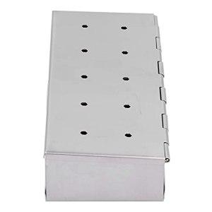 Fumoir, accessoire de barbecue 1,9×3,7×9,1 pouces Accessoires de grillage Résistant aux hautes températures pour les pique-niques pour le camping pour les cuisines pour les parties de