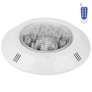 Fybida Lampe de Piscine étanche IP68 24LED lumière sous-Marine lumière de Piscine RGB lumière de Piscine Lampe de Paysage Lampe sous-Marine AC12V 24W pour l'éclairage de Paysage