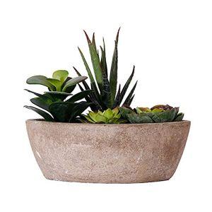Gertok Fausse Plante Plantes Artificielles Bureau Décor Faux Plantes Cuisine Décoration Plantes d'extérieur Décorations de pâques Plante d'intérieur