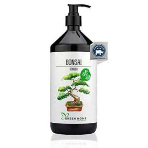 GREEN HOME LOVE NATURE® Engrais pour bonsaï avec haute teneur en nutriments – Engrais durable au ginseng facile à doser – Fabriqué en Allemagne.