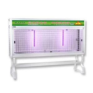 Insecte Zapper Light, lampe anti-moustique pour piège à moustiques à double source de lumière, tueur de mouche électrique pour cour extérieure intérieure, villa avec ferme pour pelouse, avec support