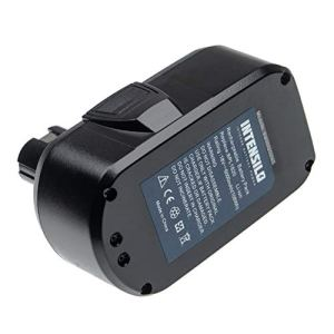 INTENSILO Batterie compatible avec Ryobi P731, P740, P741, P780, P813, P835, ZRP813 outil électrique (6000mAh Li-ion 18 V)