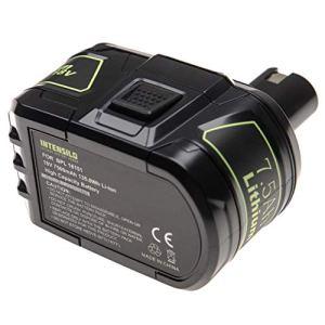 INTENSILO Batterie remplacement pour Ryobi P104, P105, P106, P107, P108, P109, P193, P194 pour outil électrique (7500mAh Li-ion 18 V)