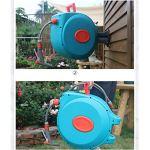 JHXL Tuyau d'arrosage mis en Camion Tuyau d'eau de Recyclage télescopique Automatique Mural Enrouleur de Tuyau d'eau for Le Nettoyage du Sol/Nettoyage for Animaux/Voiture à Laver, etc. (Size : 30m)