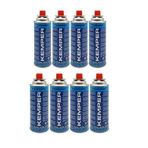 Kemper Lot de 8 cartouches de gaz butane 227 g pour four Smart 577