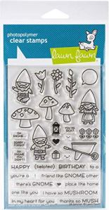 Lawn Fawn Clear Stamps 4″X6″-Oh Gnome!