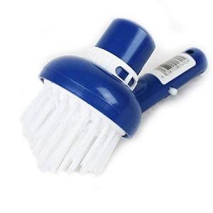 Linxor France ® Tête de brosse d'angles aspirante bleu pour manche standard ou télescopique – Norme CE