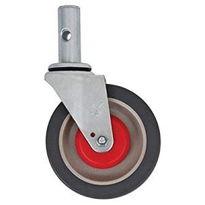 magliner 131020Gemini Roue pivotante pour brouette, aluminium Convertible