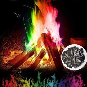 Mify Créez Une Flamme de Couleur Arc-en-Ciel vibrante pour Bonfire Party