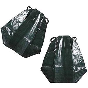 MNJM Sac d'irrigation goutte à goutte pour arbre, prévention de sécheresse, arrosage d'arbre, sac tissé en polyéthylène, dispositif de trempage d'arbre