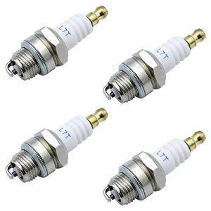 NewZC L7T Lot de 4 bougies d'allumage universelles de rechange pour moteurs à 2 temps