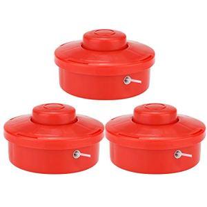 OhhGo Lot de 3 têtes universelles pour tondeuse à gazon